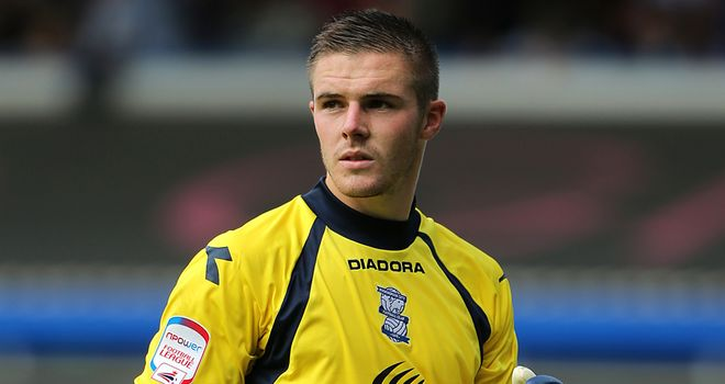 Jack Butland: Birmingham keeper has emerged as a potential target for Stoke