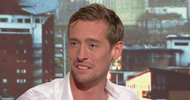 Peter Crouch: Striker believe Stoke have the ambition to target the top