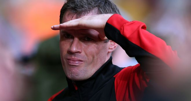 Jamie Carragher: Looking at an uncertain future