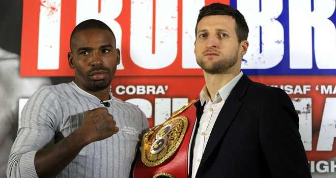 Carl Froch: Hopes for red-hot atmosphere