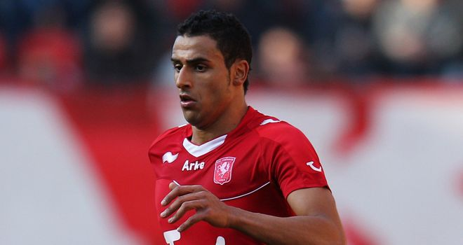 Nacer Chadli: The winger's agent says he is interested in a Premier League switch