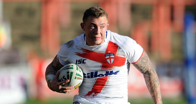 Josh Charnley: Scored four tries for England in their 80-12 win over Wales