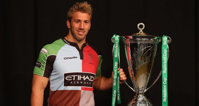 Robshaw: looking forward to the best of Europe