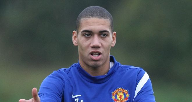 Chris Smalling: Back in training