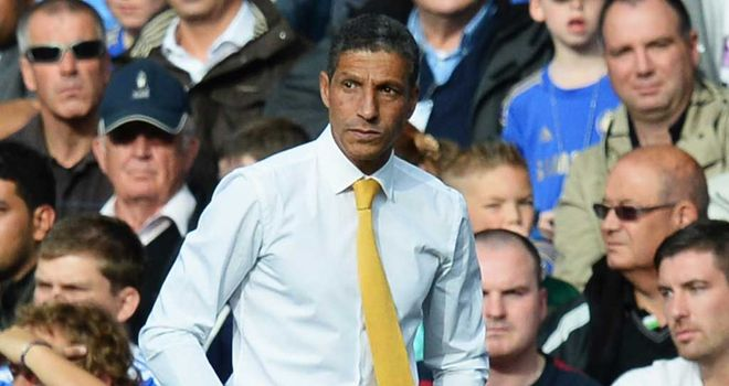 Chris Hughton: Norwich boss has seen his side ship nine goals in their last two games