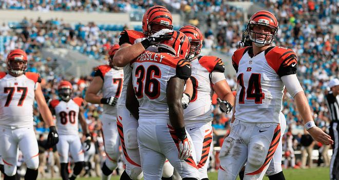 The Bengals: Moved to 3-1 after comfortable win in Jacksonville
