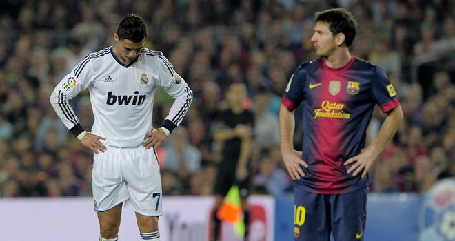 Ronaldo: good...but not as good as Messi