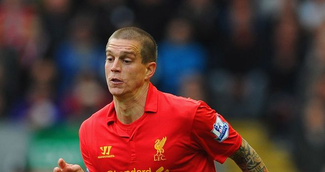 Daniel Agger: Played against Chelsea despite suffering groin injury