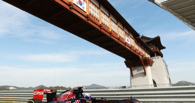 Daniel Ricciardo: Overcame brake failure to finish ninth in Korea