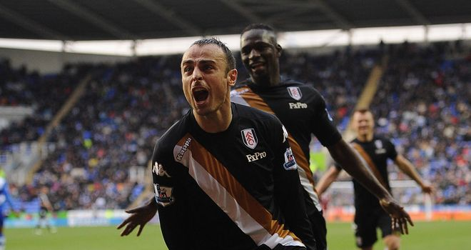 Dimitar Berbatov: Signed for Fulham from Manchester United on August's deadline day
