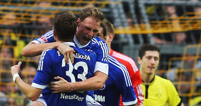 Schalke moved clear of rivals Dortmund