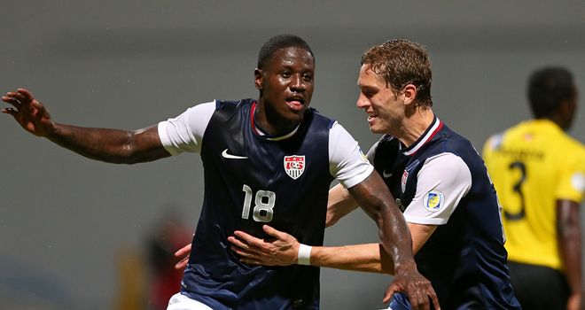 Eddie Johnson: On target for USA in win over Panama