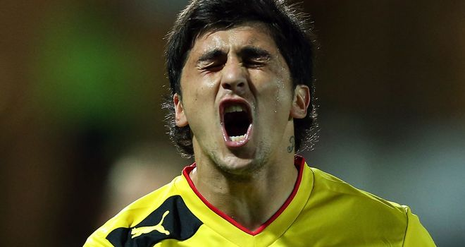 Fernando Forestieri: A mixed night for the Argentine as he was sent off