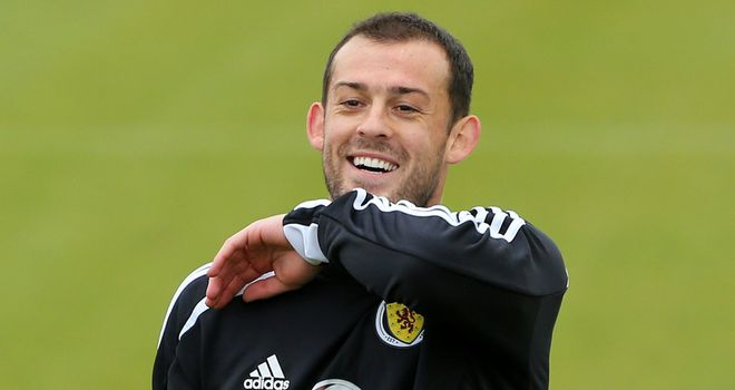 Steven Fletcher: Welcomed back to Scotland fold by striker Kenny Miller