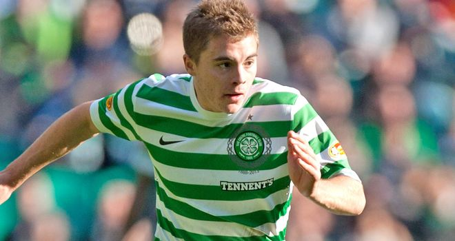 James Forrest: Struggling to be fit for Spartak Moscow showdown