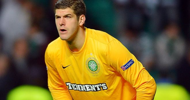 Fraser Forster: Disappointed by Celtic's loss to Barcelona