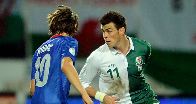 Gareth Bale: The Tottenham Hotspur winger will come up against former team-mate Luka Modric