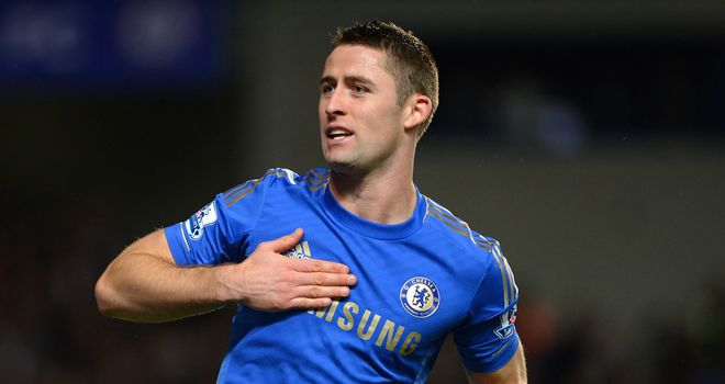 Gary Cahill: Targeting second place in the Premier League