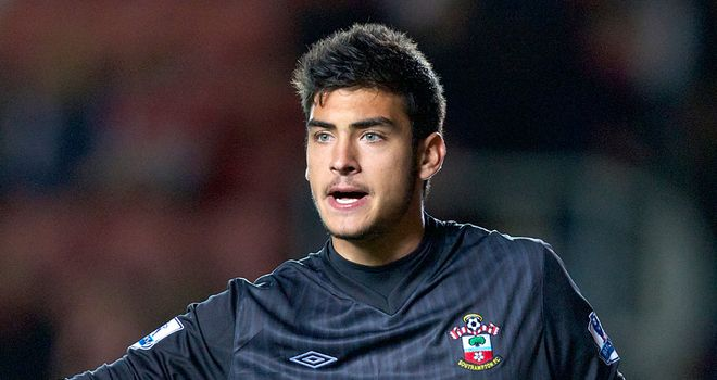 Paulo Gazzaniga: Offered backing by Southampton boss Nigel Adkins