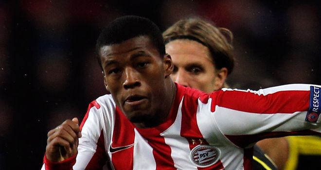 Georgino Wijnaldum: Got the ball rolling for PSV