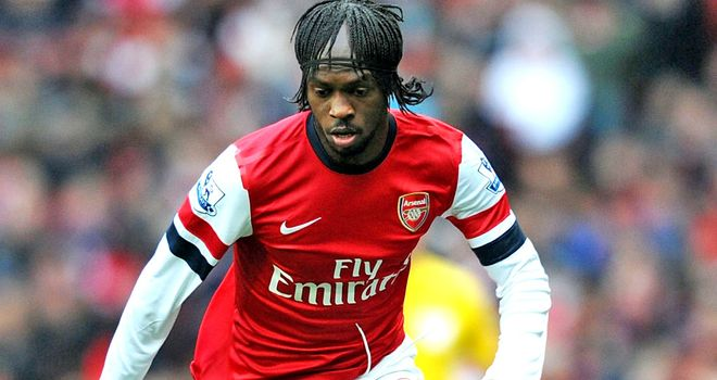 Gervinho: Arsenal forward facing three weeks on the sidelines