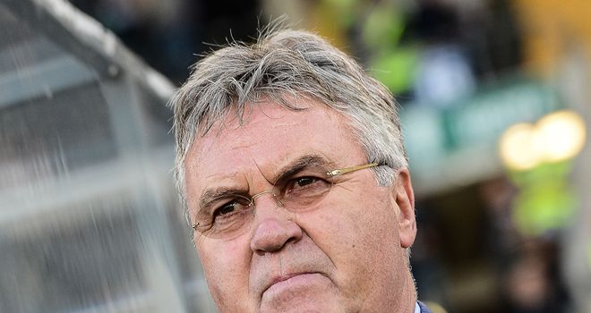 Guus Hiddink: Hoping to lead Anzhi into the last eight of the Europa League