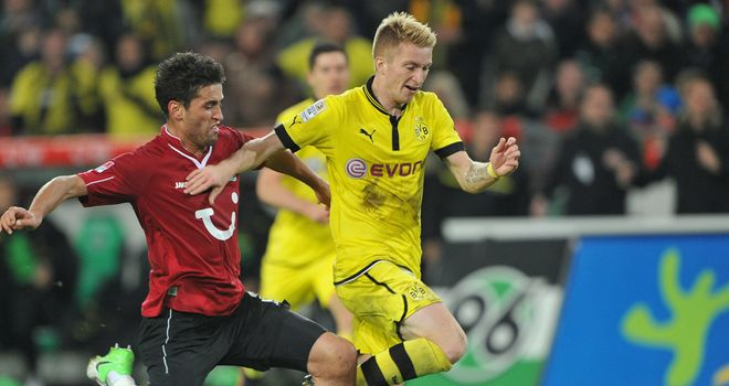 Marco Reus: Borussia Dortmund winger says Bundesliga is improving