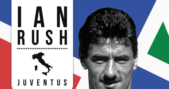 Ian Rush played for Juventus for one season in 1987-88