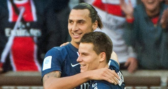 Zlatan Ibrahimovic: Suspended for two matches following sending-off