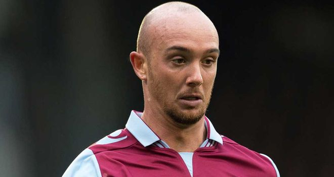 Stephen Ireland: Had been training with Villa's youth team during pre-season.