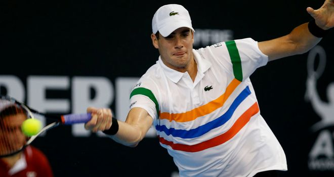 John Isner: First round defeat to Denis Istomin