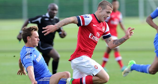 Jack Wilshere: Closing in on a first-team comeback after more than a year out