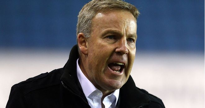 Kenny Jackett: Rages at offside decision