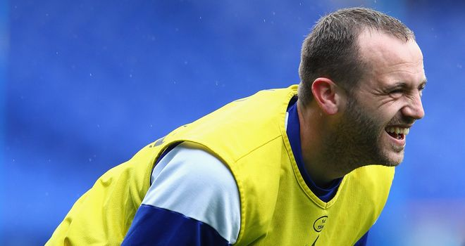 James McFadden: Hopes to put recent struggles behind him and reach 50 caps.