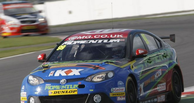 Jason Plato: Will start on pole position at Silverstone (Image: btcc.net)