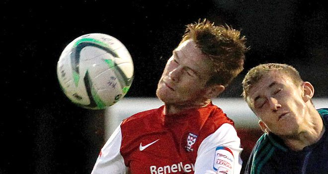 Jason Walker: grabbed York City's second goal at Spotland