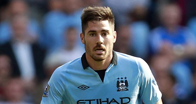 Javi Garcia: Has settled quickly since summer move from Benfica