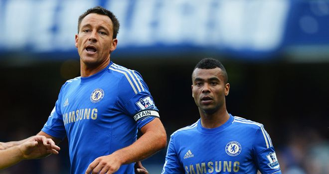 John Terry: Will now miss games against Spurs, Manchester United and Swansea