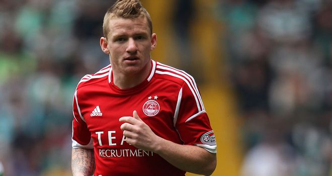 Jonny Hayes: Winger had a goal disallowed in the second-half ending the game 0-0