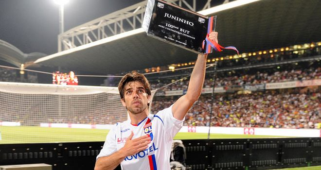 Juninho: Wraps up deal for move to New York Red Bulls.