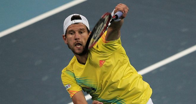 Jurgen Melzer: Was sent crashing out of home tournament by Gilles Muller