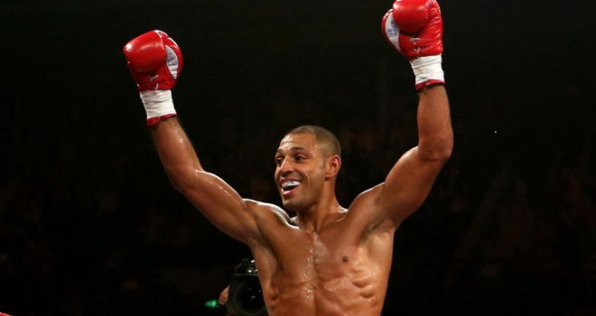 Kell Brook: Will fulfil a childhood dream when he fights for a world title