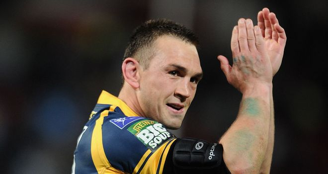 Kevin Sinfield: 100 per cent record with boot during play-offs