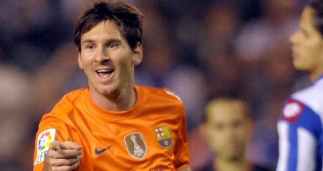 Messi: Played his part in a thriller