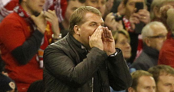 Brendan Rodgers: Trying to get his message across but the failings are familiar at Liverpool