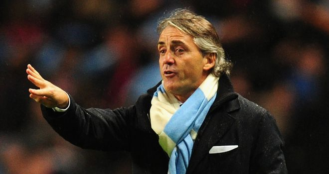 Roberto Mancini: City side have won just one of last six