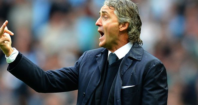 Roberto Mancini: Confident Manchester City can bounce back from early problems
