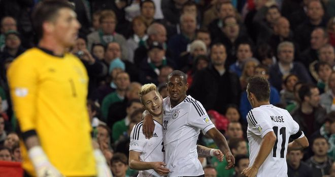 Marco Reus: Grabbed the first two goals for Germany against Republic of Ireland