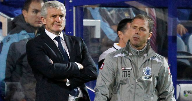 Mark Hughes: Hoping for first win of the season against West Brom on Saturday
