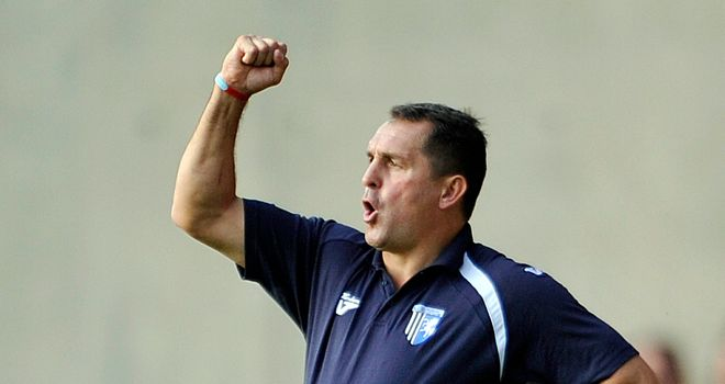 Martin Allen: Relished McDonald's showing